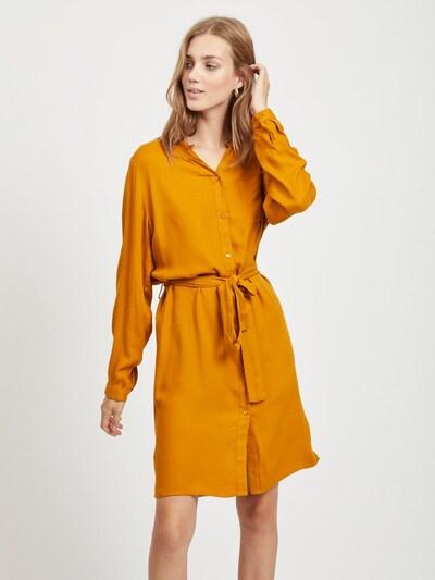 OBJECT Blusenkleid in cognac, Modelansicht