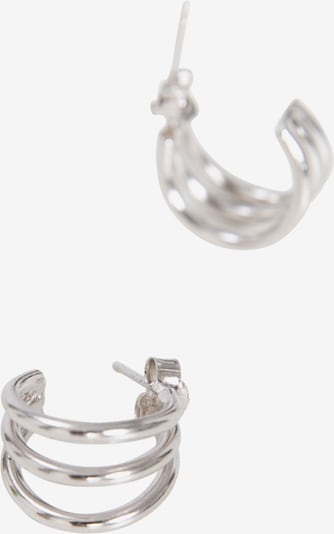 EDITED Boucles d'oreilles 'Leona' en argent, Vue avec produit