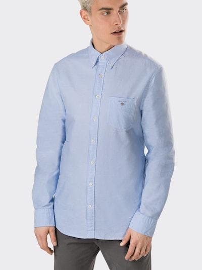 GANT Hemd 'The Oxford Shirt BD' in hellblau: Frontalansicht