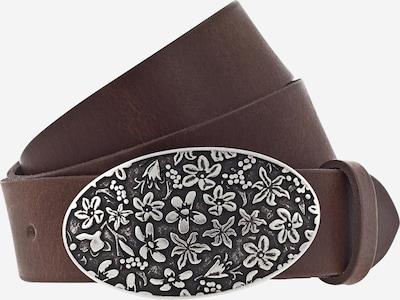 MUSTANG Riem in de kleur Bruin / Zilver, Productweergave