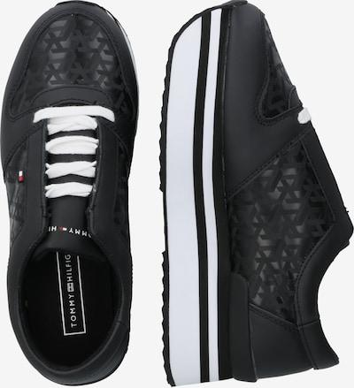 TOMMY HILFIGER Sneaker in schwarz: Seitenansicht