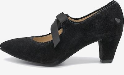 SPIETH & WENSKY Pumps 'Lea' in schwarz, Produktansicht