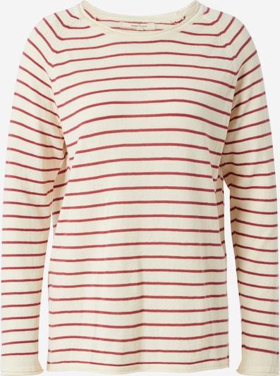 basic apparel T-shirt 'Soya' en beige / rouge, Vue avec produit
