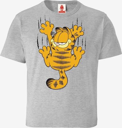 LOGOSHIRT T-Shirt 'Garfield Scratches' in grau, Produktansicht