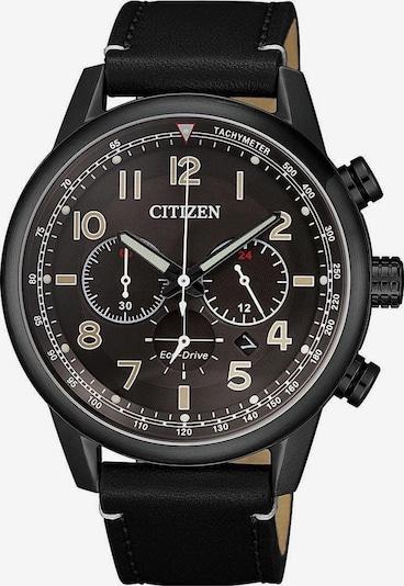 CITIZEN Chronograph 'CA4425-28E' in schwarz: Frontalansicht