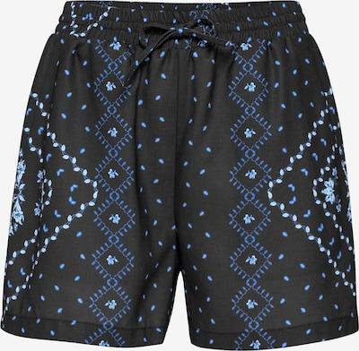 EDITED Pantalon 'Karam' en bleu / noir / blanc, Vue avec produit