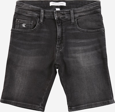 Calvin Klein Jeans Shorts in black denim, Produktansicht
