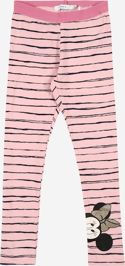 NAME IT Hose 'MINNIE KIRI ' in rosa / schwarz, Produktansicht