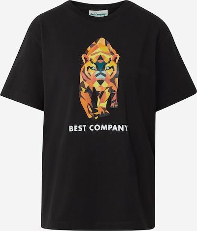 Best Company Shirt in schwarz: Frontalansicht