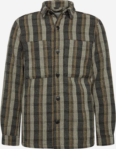 !Solid Jacke 'Lino' in beige / hellbeige / oliv, Produktansicht