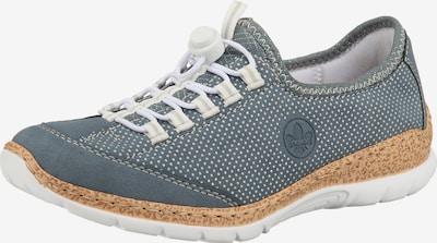 RIEKER Sneaker in blau / silber, Produktansicht