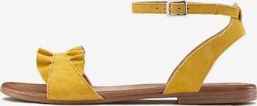 LASCANA LASCANA Sandale - Žltá