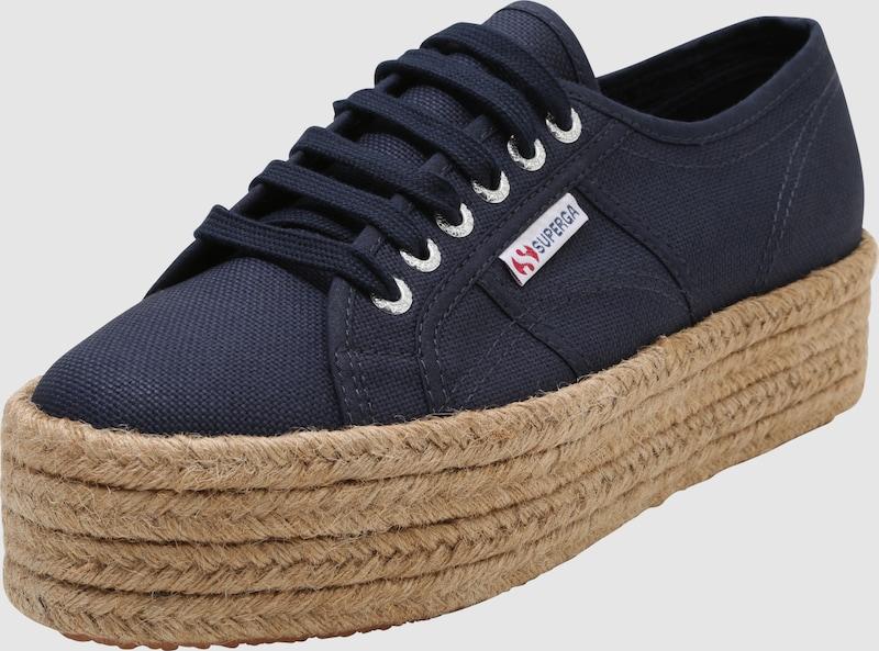 SUPERGA Sneaker '2790 - COTROPEW' Jute-Plateau mit Jute-Plateau COTROPEW' dfd39b