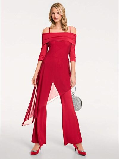 heine Overall in rot, Modelansicht