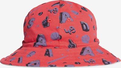 ADIDAS PERFORMANCE Hut in grau / orangerot, Produktansicht