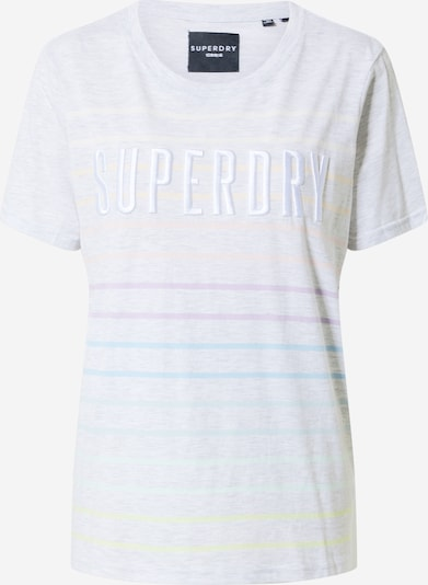Superdry Shirt in de kleur Lichtgrijs / Gemengde kleuren, Productweergave