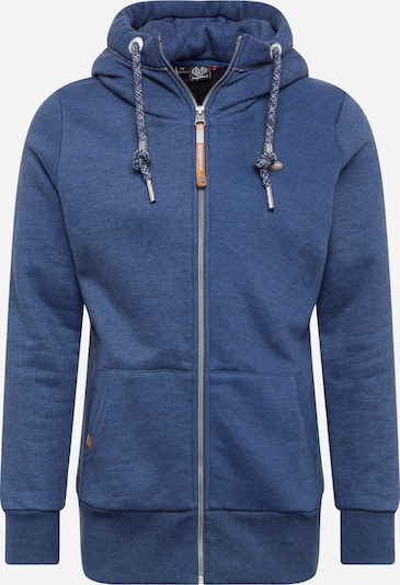 Ragwear Plus Veste de survêtement 'NESKA' en bleu marine, Vue avec produit