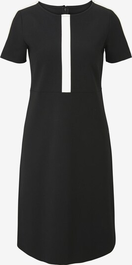 Rochie de cocktail heine pe negru / alb, Vizualizare produs