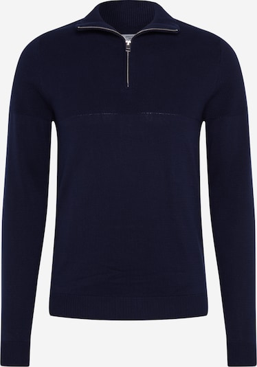 JACK & JONES Trui 'JPRBLA BILLY KNIT HALF ZIP KA' in de kleur Navy, Productweergave