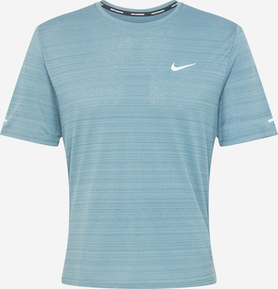 NIKE Tehnička sportska majica 'Miler' u svijetloplava, Pregled proizvoda