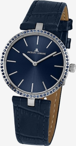 Jacques Lemans Analog Watch 'Milano' in Blue