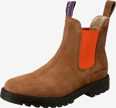 Blue Heeler Boots 'Fraser' in braun / orange, Produktansicht
