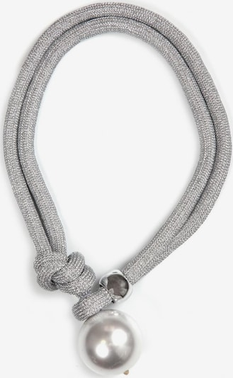 J. Jayz Kette in silber / perlweiß, Produktansicht