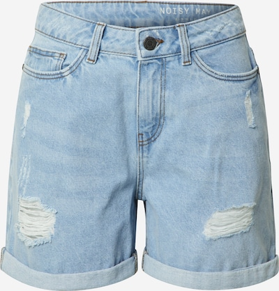Noisy may Jeansshorts 'SMILEY' in blue denim, Produktansicht