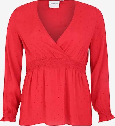 Junarose Bluzka 'JRJASMINE' w kolorze czerwony / czarnym, Podgląd produktu