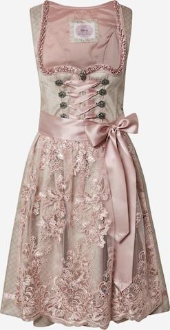 Rochițe tiroleze '013 Mananda' de la MARJO pe roz