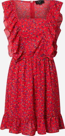 """Vasarinė suknelė iš AX Paris , spalva - sodri mėlyna (""""karališka"""") / pastelinė žalia / ugnies raudona, Prekių apžvalga"""