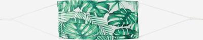 MEINFOTO, CUSTOMASK Stoffmaske 'CUSTOMASK PREMIUM' in grün / weiß, Produktansicht