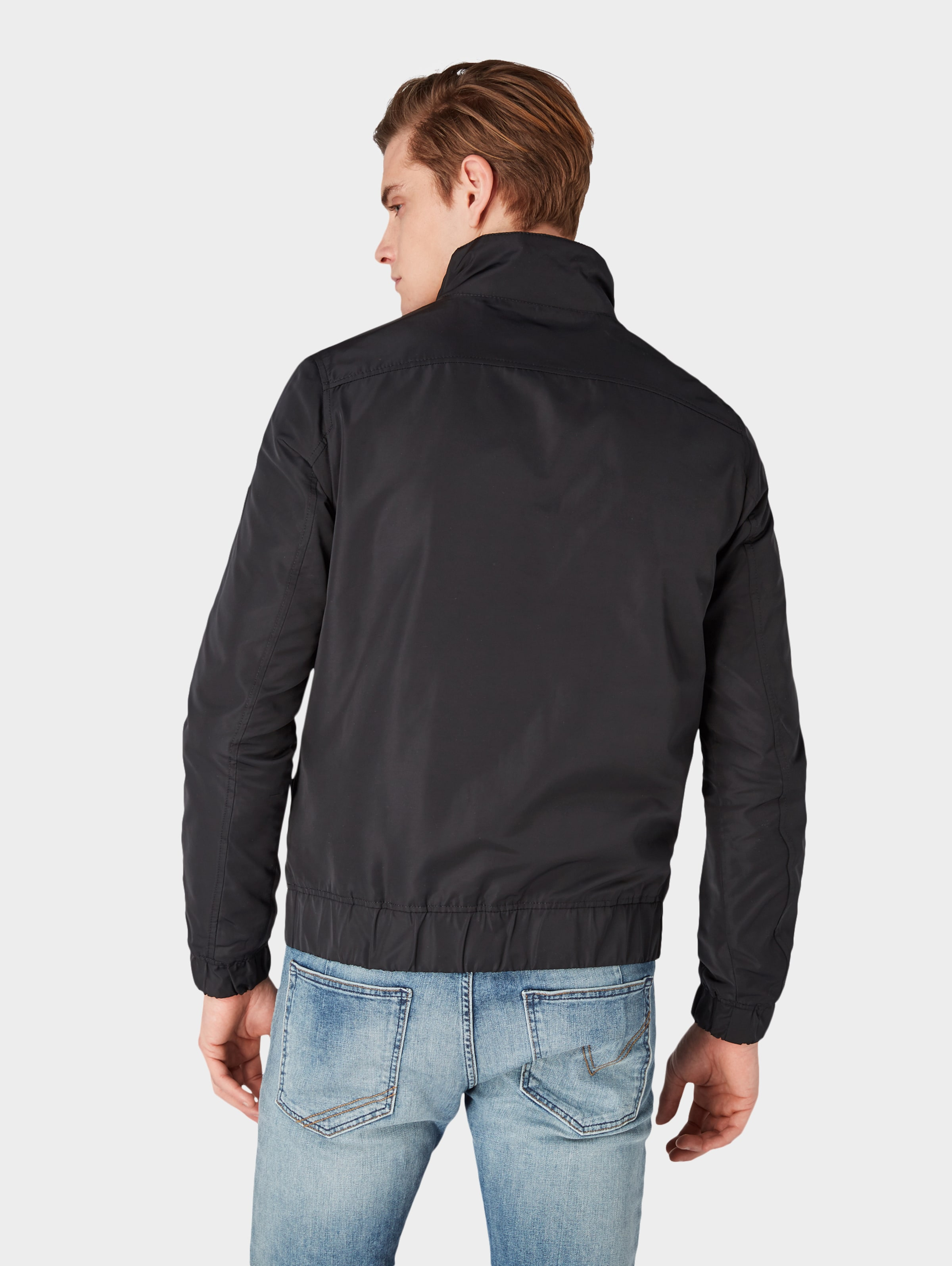 In Tom Denim Jacke Tailor Schwarz PN0kwnOX8