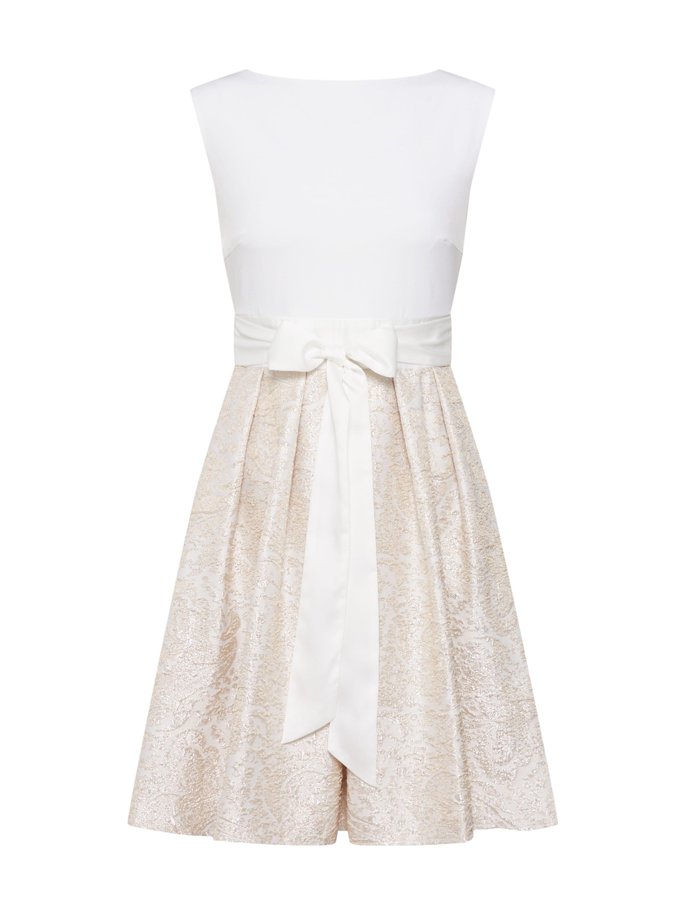 In Weiß Swing Kleid Swing CremeGold Owyn0N8vm