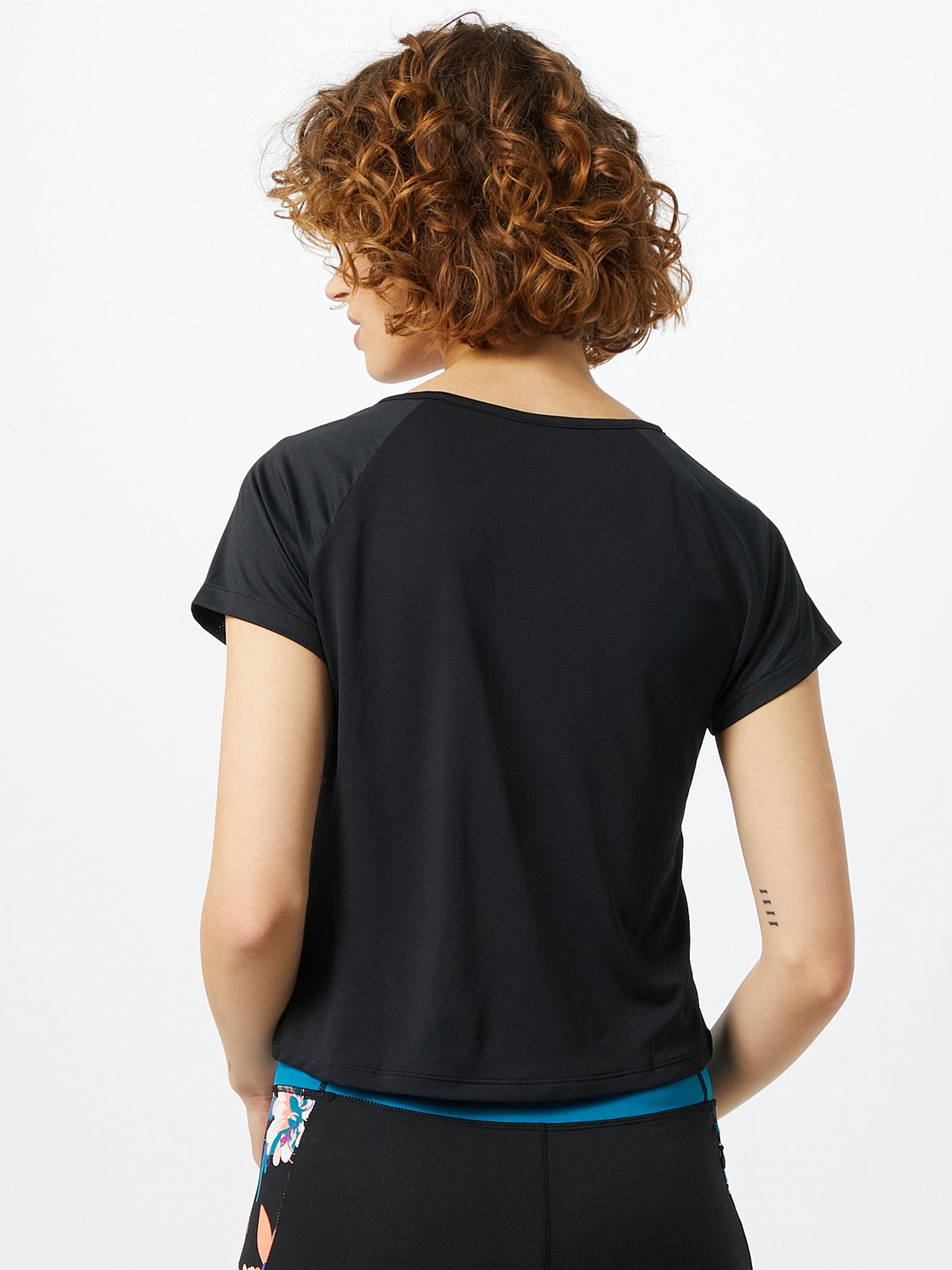 ROXY Funkcionális felső fekete színben