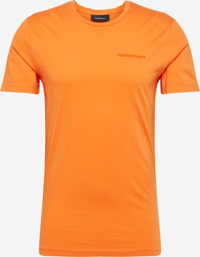 PEAK PERFORMANCE T-Shirt 'URBAN' in orange, Produktansicht