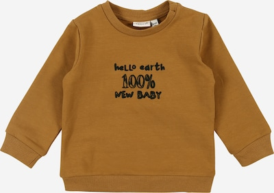 NAME IT Sweatshirt 'Lepan' in bronze / schwarz, Produktansicht