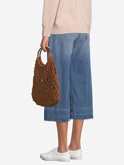 PIECES Handtasche in rostbraun: Frontalansicht