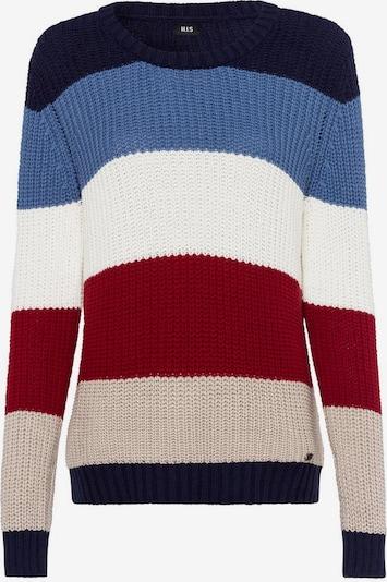 HIS JEANS Pullover in mischfarben, Produktansicht