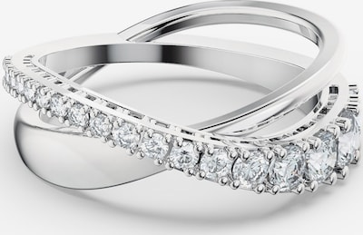 Swarovski Ring 'Twist Rows' in grau / silber, Produktansicht