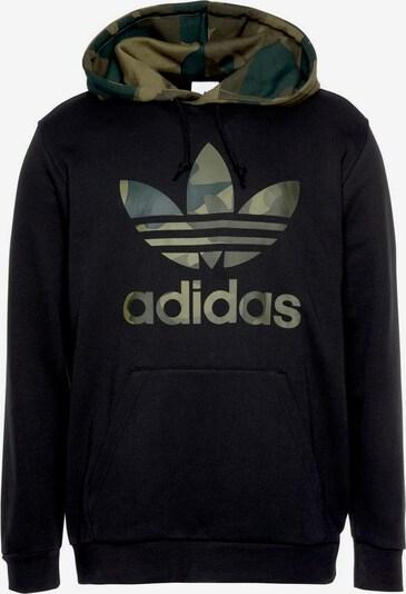 ADIDAS ORIGINALS Sweatshirt 'Camo Oth' in de kleur Kaki / Olijfgroen / Zwart, Productweergave