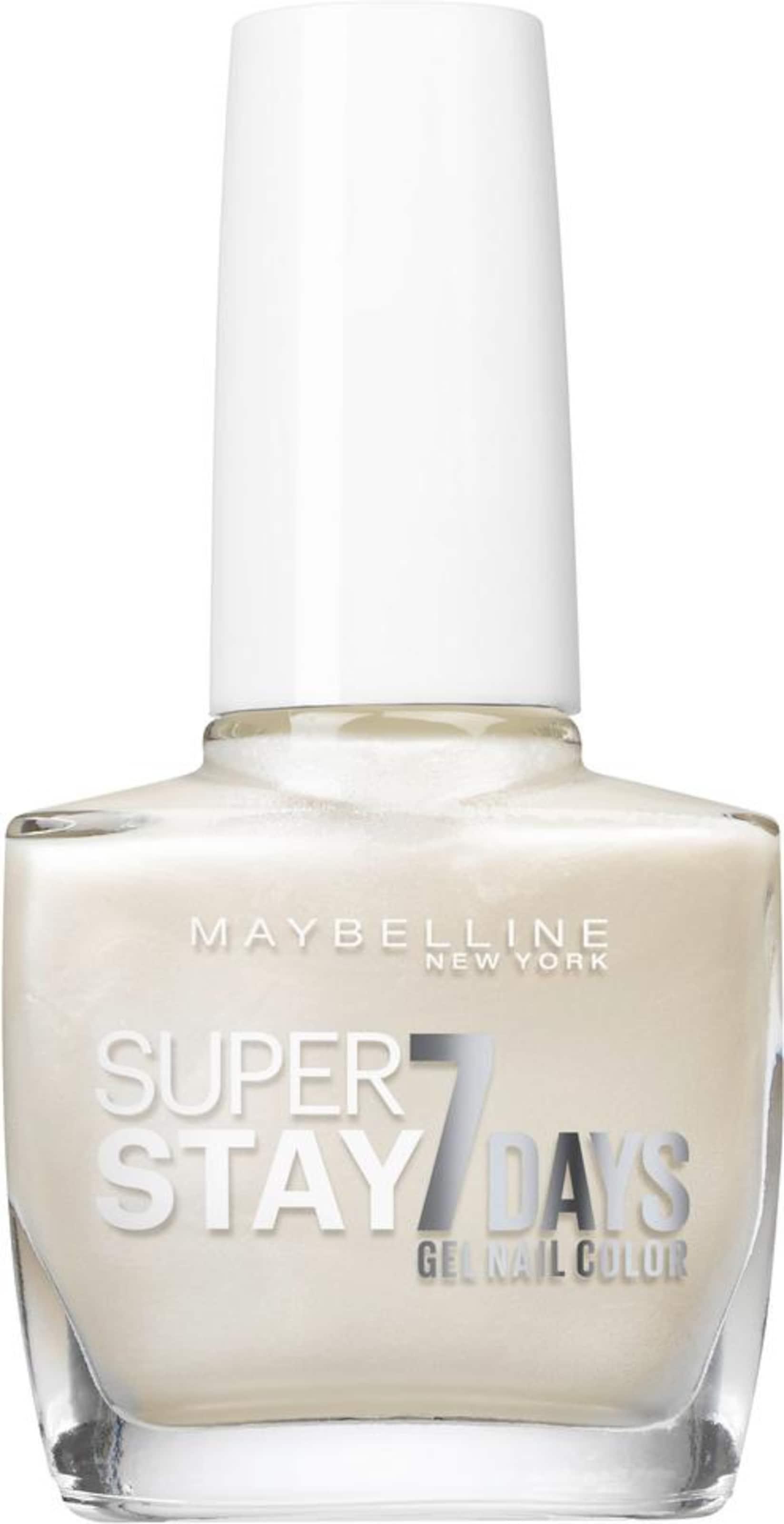 Superstay New 'nagellack 7 Maybelline Days Nagellack In York ' Perlweiß JK1lFc