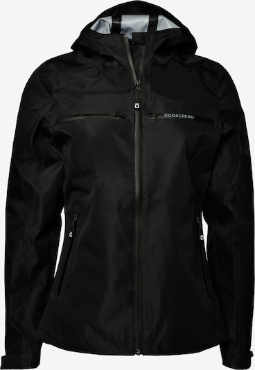 CODE-ZERO Outdoorjacke 'Waypoint' in schwarz, Produktansicht