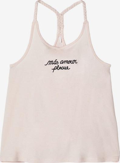 NAME IT Spaghetti-Träger Top mit Motto Print in beige / rosa, Produktansicht