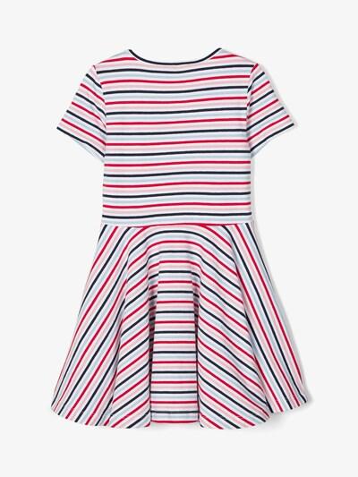 NAME IT Kleid in hellblau / dunkelblau / rosa / rot / weiß, Produktansicht