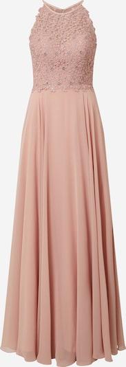 LUXUAR Kleid 'Maxikleid Neckholder Blumenspitze' in rosé, Produktansicht