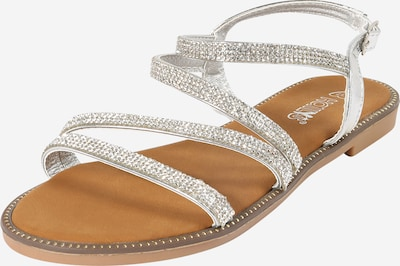Hailys Sandály 'Sunny' - stříbrná, Produkt