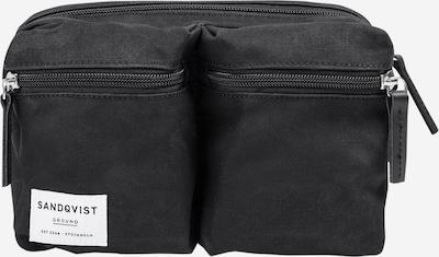 SANDQVIST Gürteltasche 'PAUL' in schwarz, Produktansicht