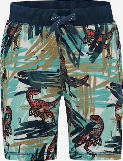 Noppies Shorts 'Jeannot' in dunkelblau / jade / mischfarben / weiß, Produktansicht