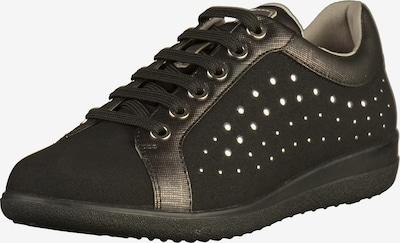 GEOX Sneaker in gold / schwarz, Produktansicht